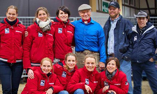 Pferdeflüsterer Monty Roberts kommt nach Bad Saarow