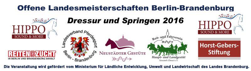 Championatswochenende in Neustadt (Dosse)