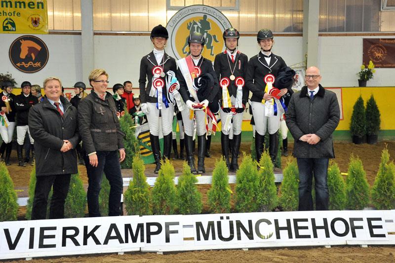 Landesmeisterschaften Vierkampf in Münchehofe