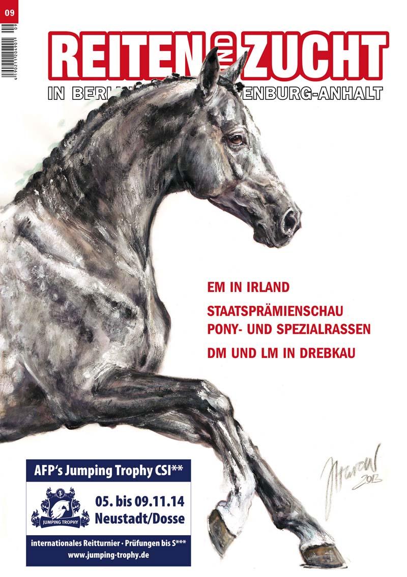 Das neue Reiten und Zucht-Heft Nr. 9/2014 ist da!