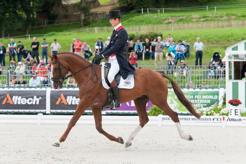 WEG 2014: Zwei Deutsche Sportpferde übernehmen Spitze in der Vielseitigkeit